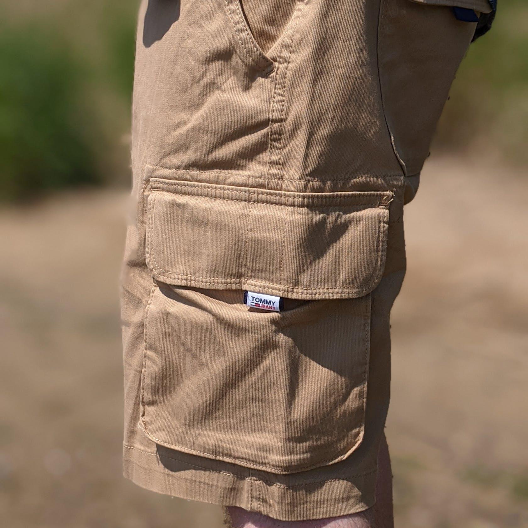 beige Shorts von Tommy Jeans
