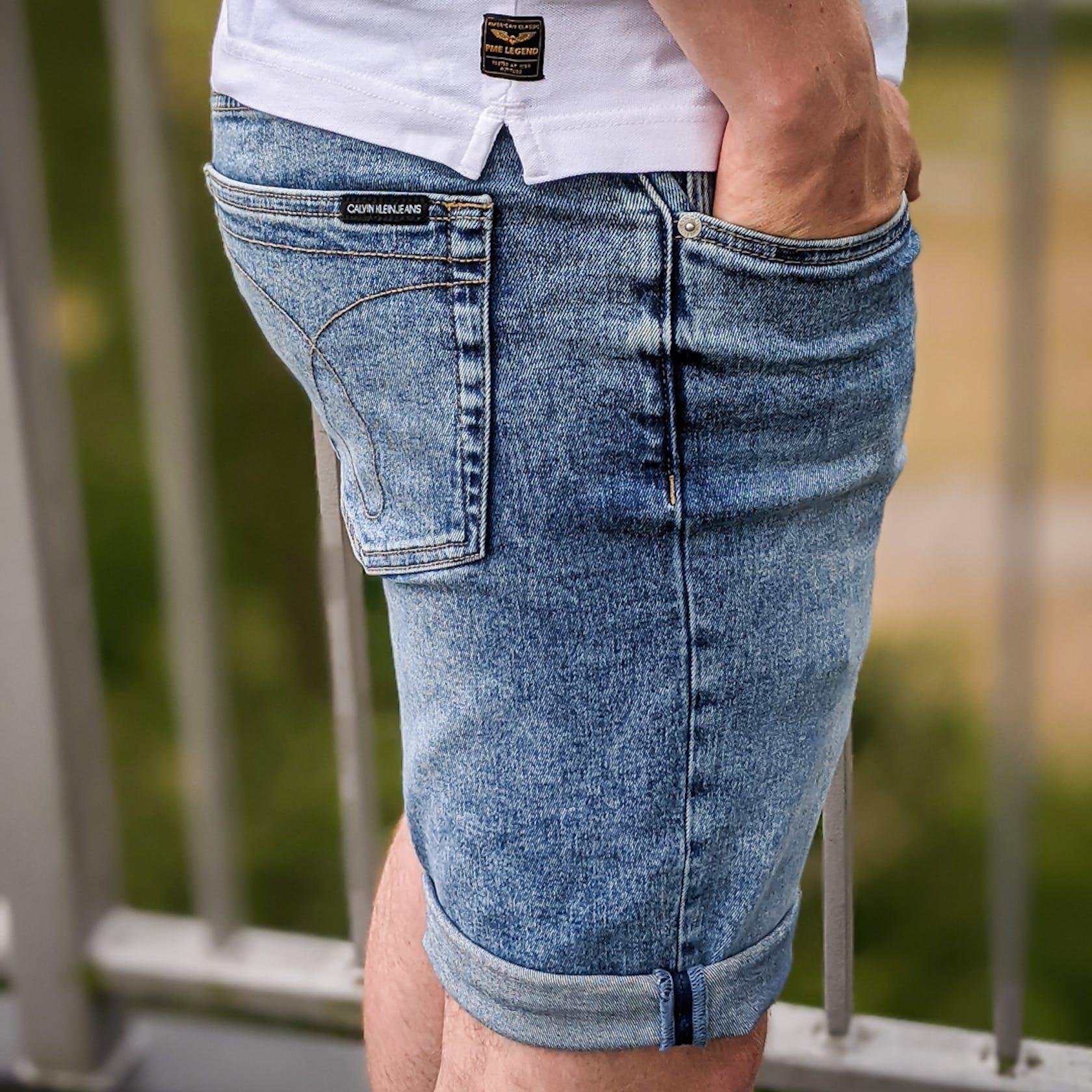 helle Jeansshorts von Calvin Klein