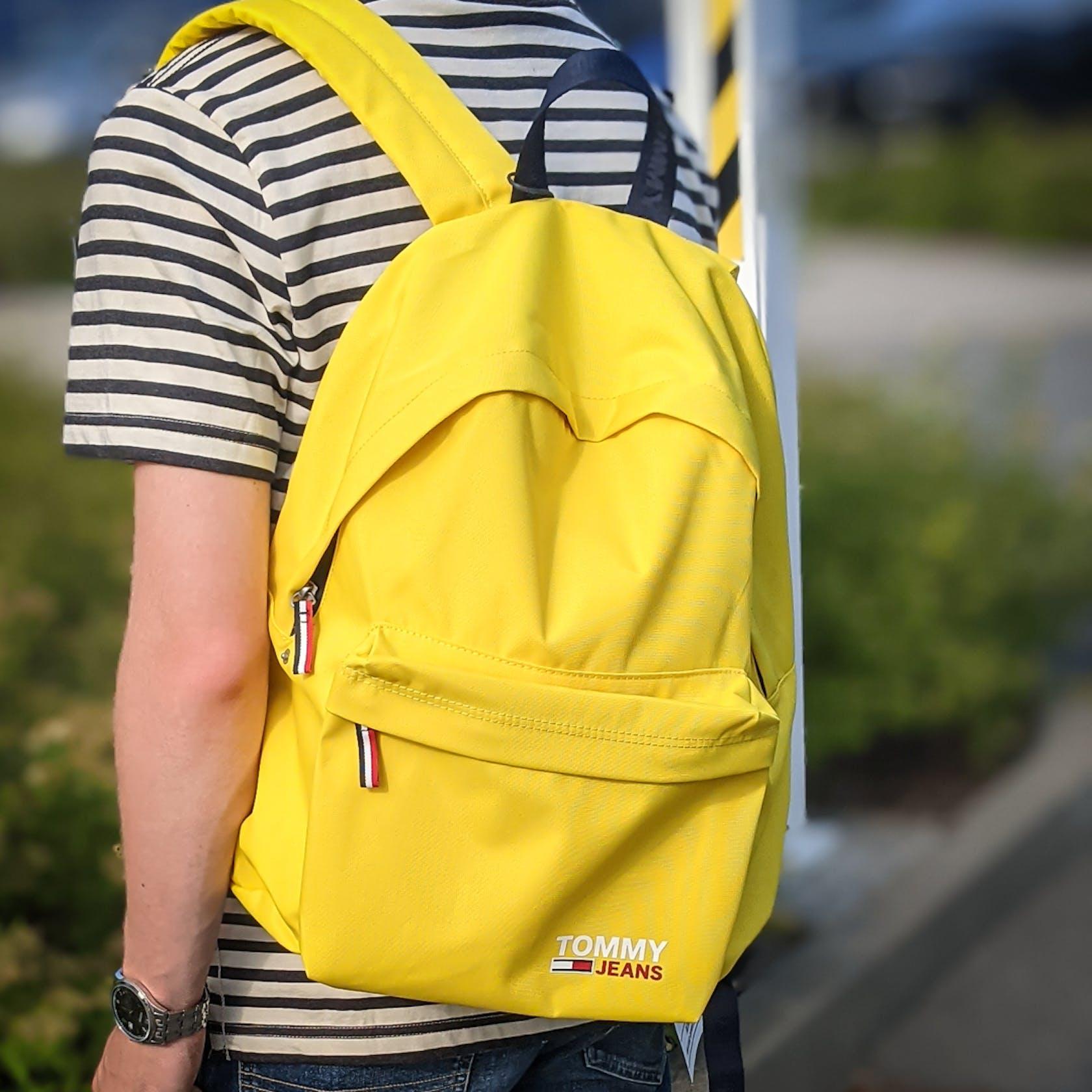 gelber Rucksack von Tommy Jeans