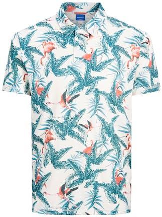 Kurzarm Hemd mit Tropenmotiv von Jack&Jones
