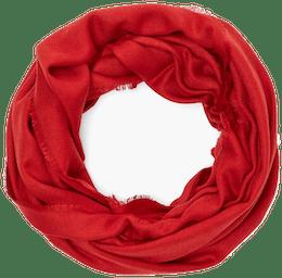 roter Loopschal von s.Oliver