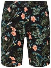 Shorts mit Blumenmuster von Tom Tailor Denim