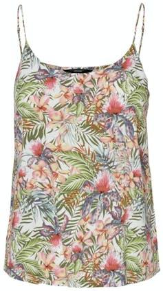 Top mit tropischem Blumenmuster von Vero Moda