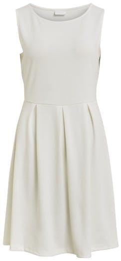 weißes ausgestelltes Kleid von VILA