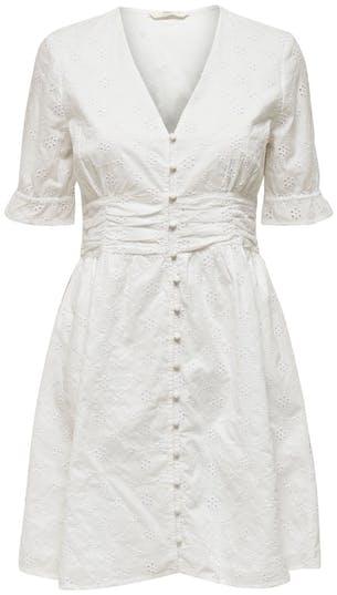 weißes Sommerkleid von ONLY