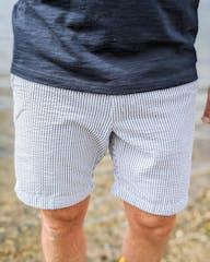 gestreifte Shorts von Jack&Jones