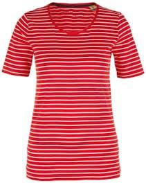 T-Shirt rot und weiß gestreift von s.Oliver