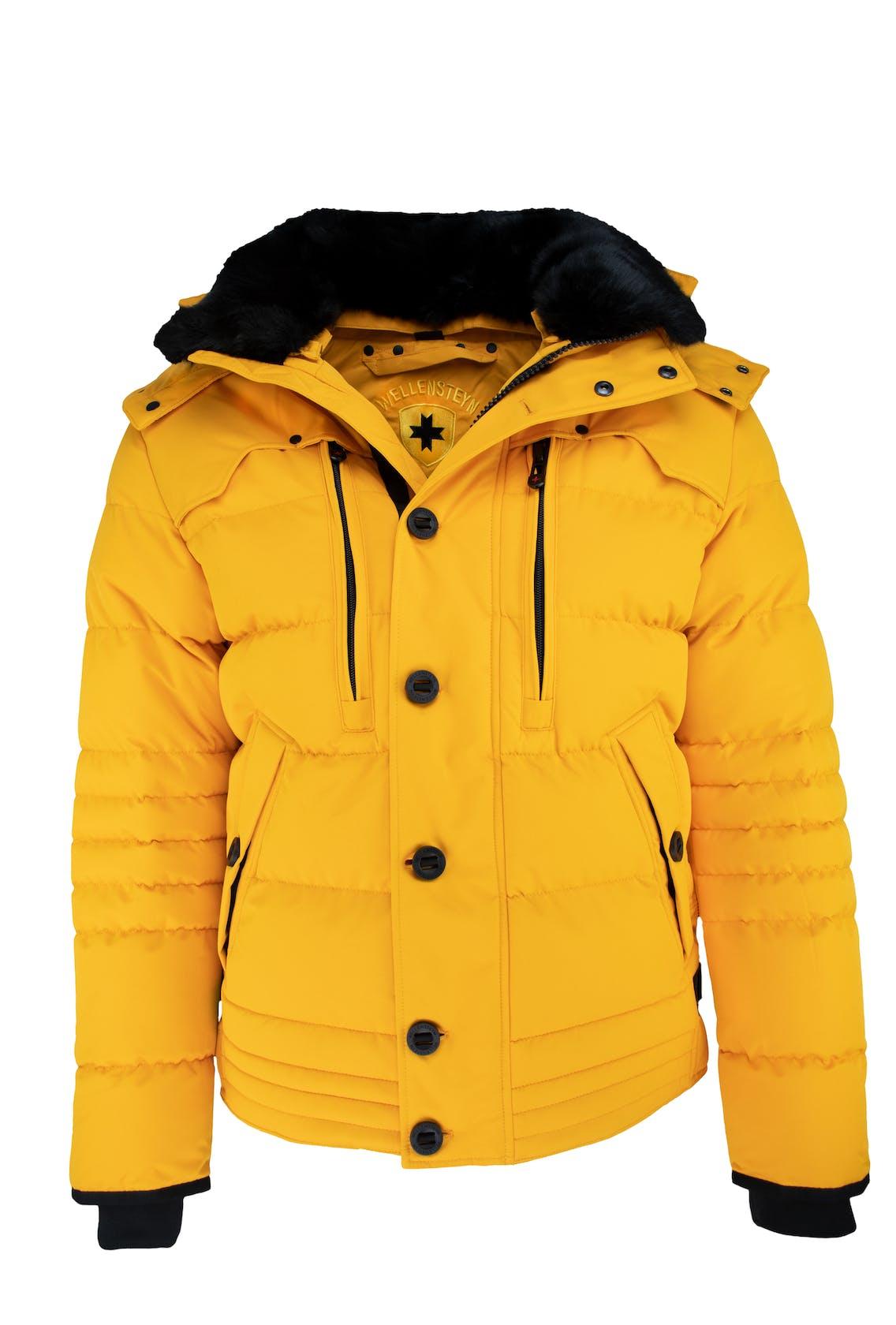 Winterjacke in gelb von Wellensteyn für Herren