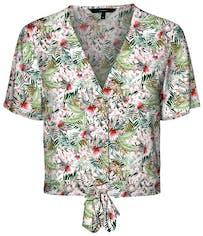 Bluse mit Tropenprint von Vero Moda