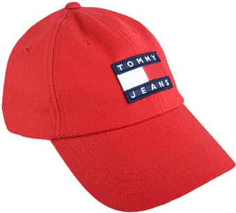 rote Cap von Tommy Jeans