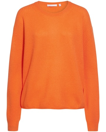 (The Mercer) N.Y., Cashmere-Pullover, Orange, Orange Trend 2019, Lodenfrey, Munich
