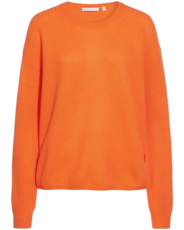 (The Mercer) N.Y., Cashmere-Pullover, Orange, Orange Trend 2019, Lodenfrey, Munich