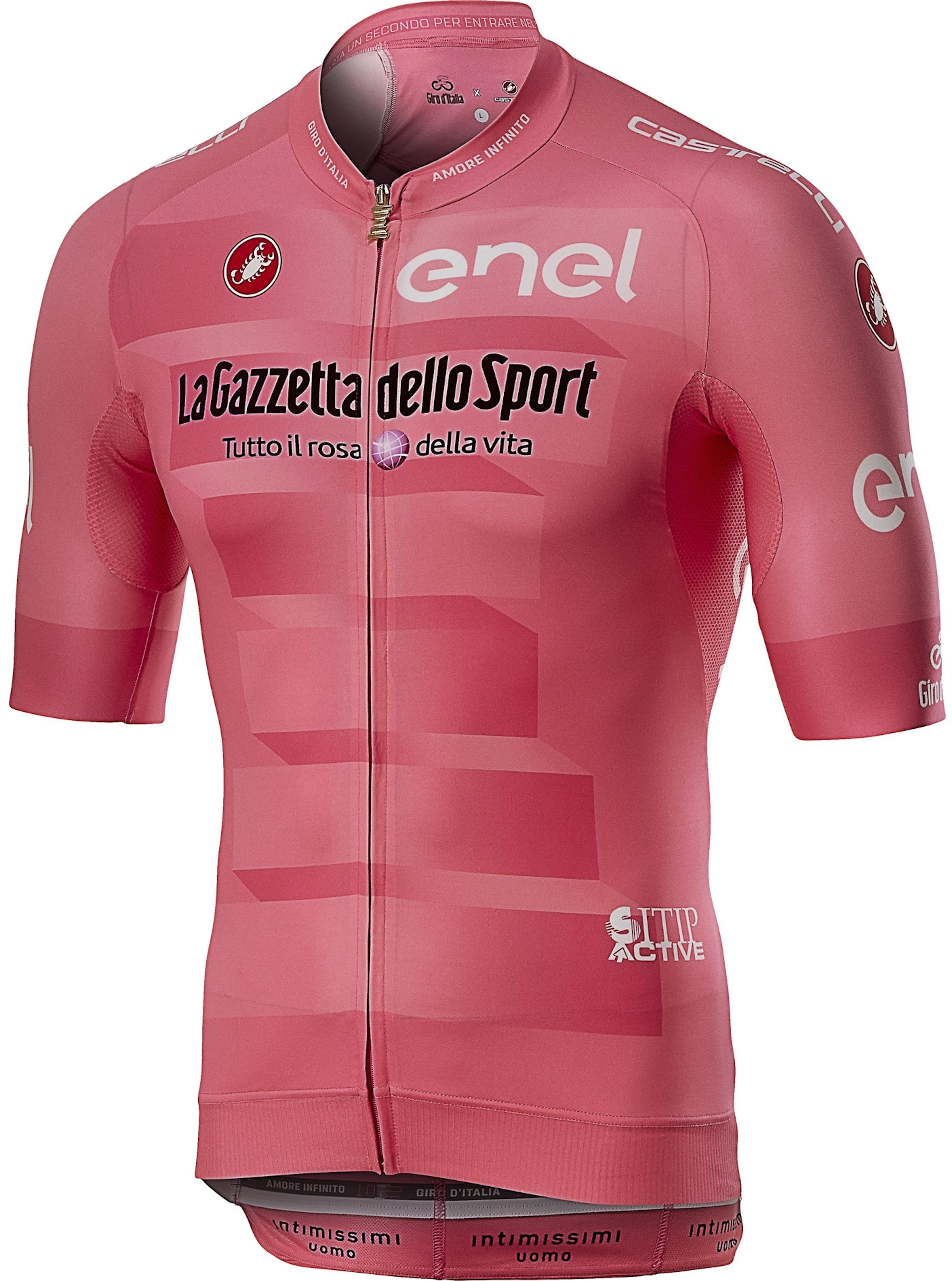 e17df76bc0c7 Castelli Maglia Rosa Race Giro d'Italia 2019 - uomo   Sportler.com