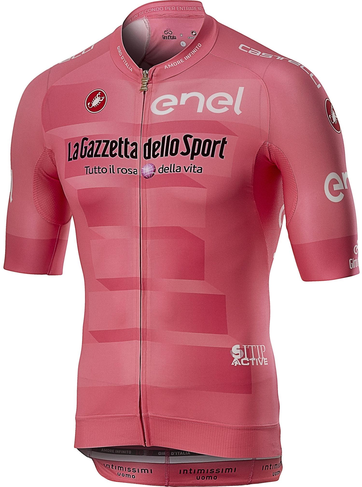 Castelli #Giro102 Race - Maglia Rosa Giro d'Italia 2019 - uomo