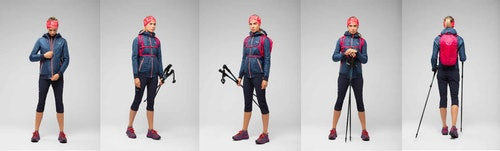 Salewa Pedroc Hybrid Twc M Hood - giacca ibrida - donna