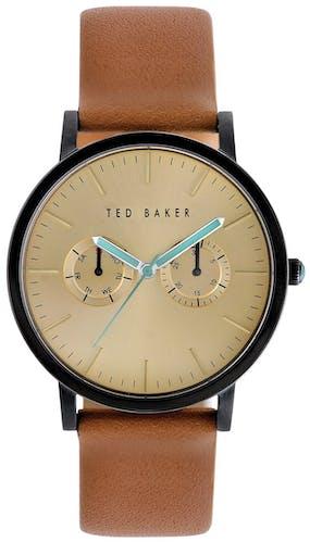 Cette montre TED BAKER se compose d'un Boîtier Rond de 40 mm et d'un bracelet en Cuir Marron
