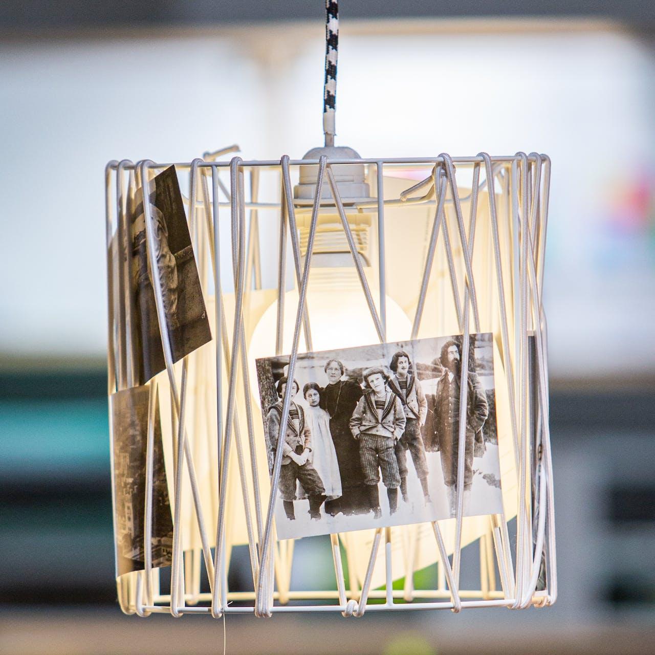 Leuchten zum Selberbauen / DIY-Leuchte mit Bildern