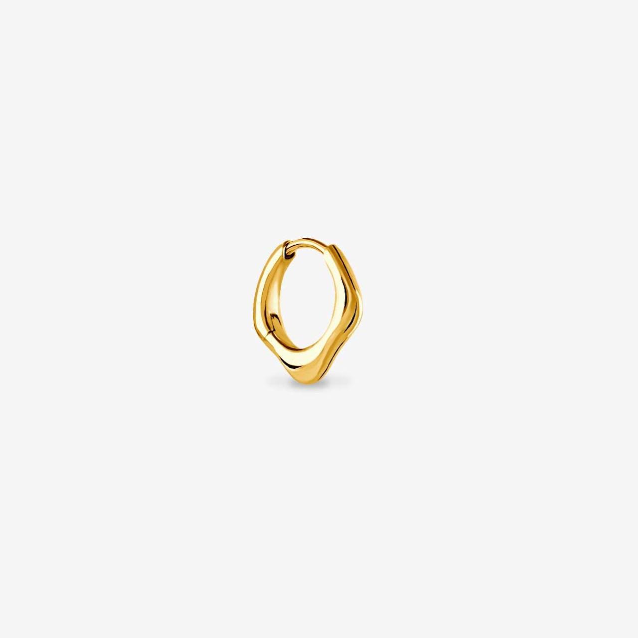 Penso - Single-Ohrringe - Gold