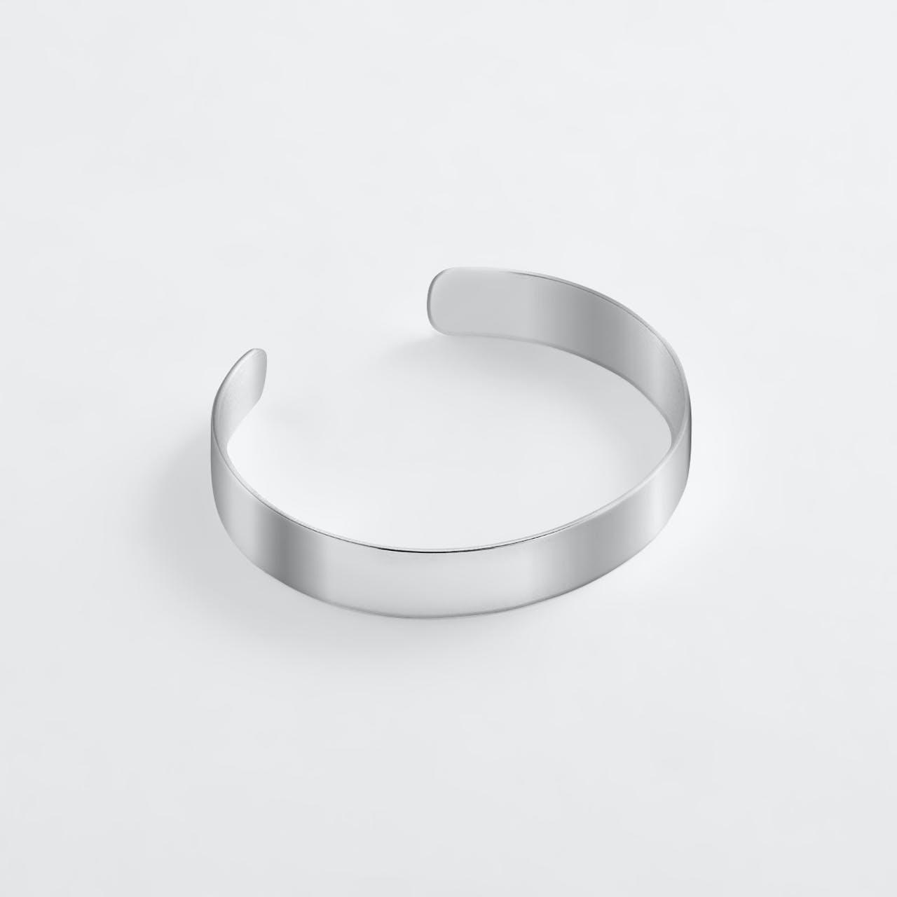 Gina - Armreifen - Silber