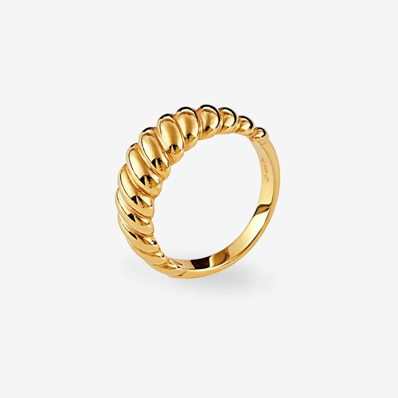 Croissant - Ringe - Gold