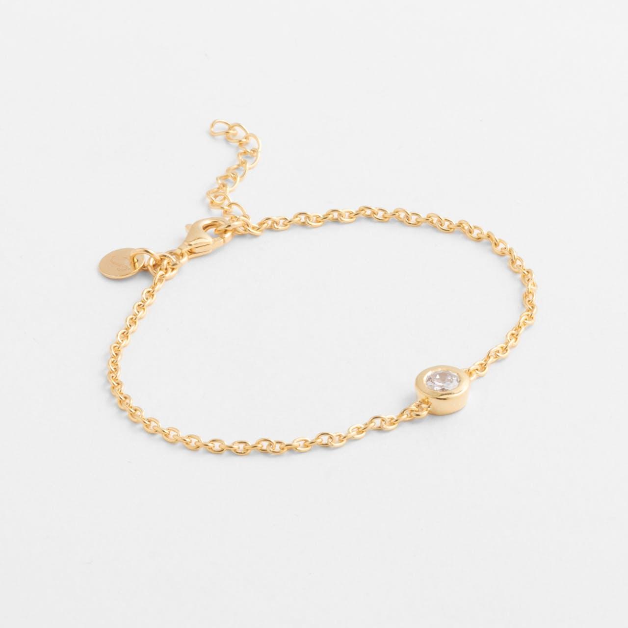 Annabell - Armband - 18k vergoldet