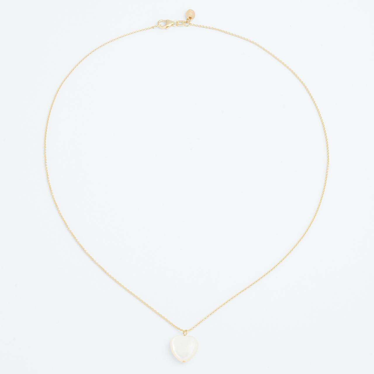 Heart Necklace - Halsketten - Gold