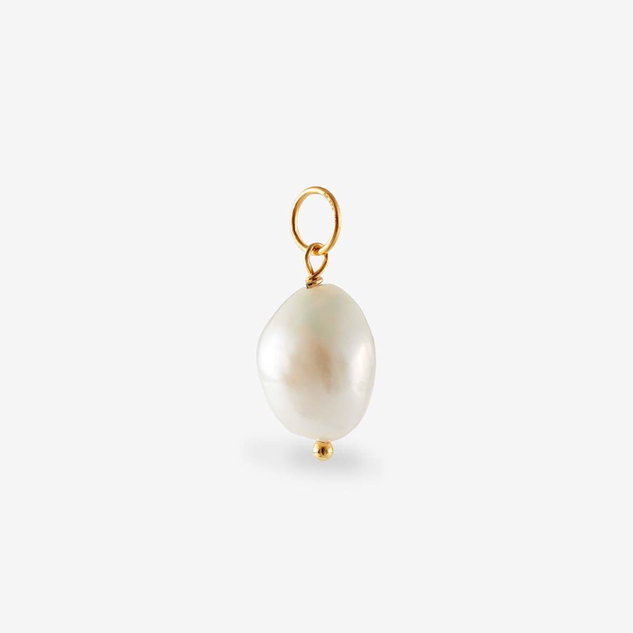 Anhänger Perle - Perlenketten - Gold