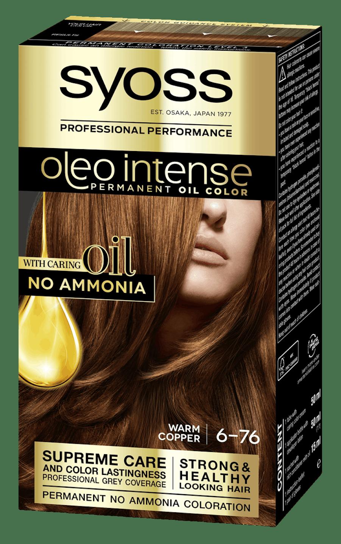 Боя за коса Syoss Oleo Intense Топло меден 6-76 pack shot