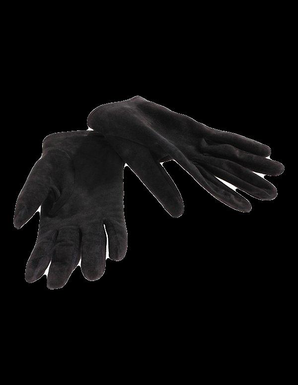 Veloursleder Handschuhe