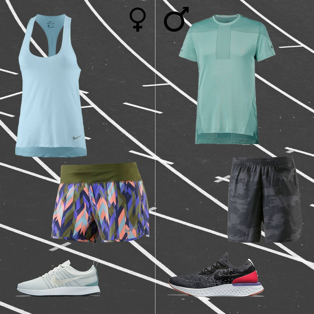 Jogging Outfits für Frauen und Männer