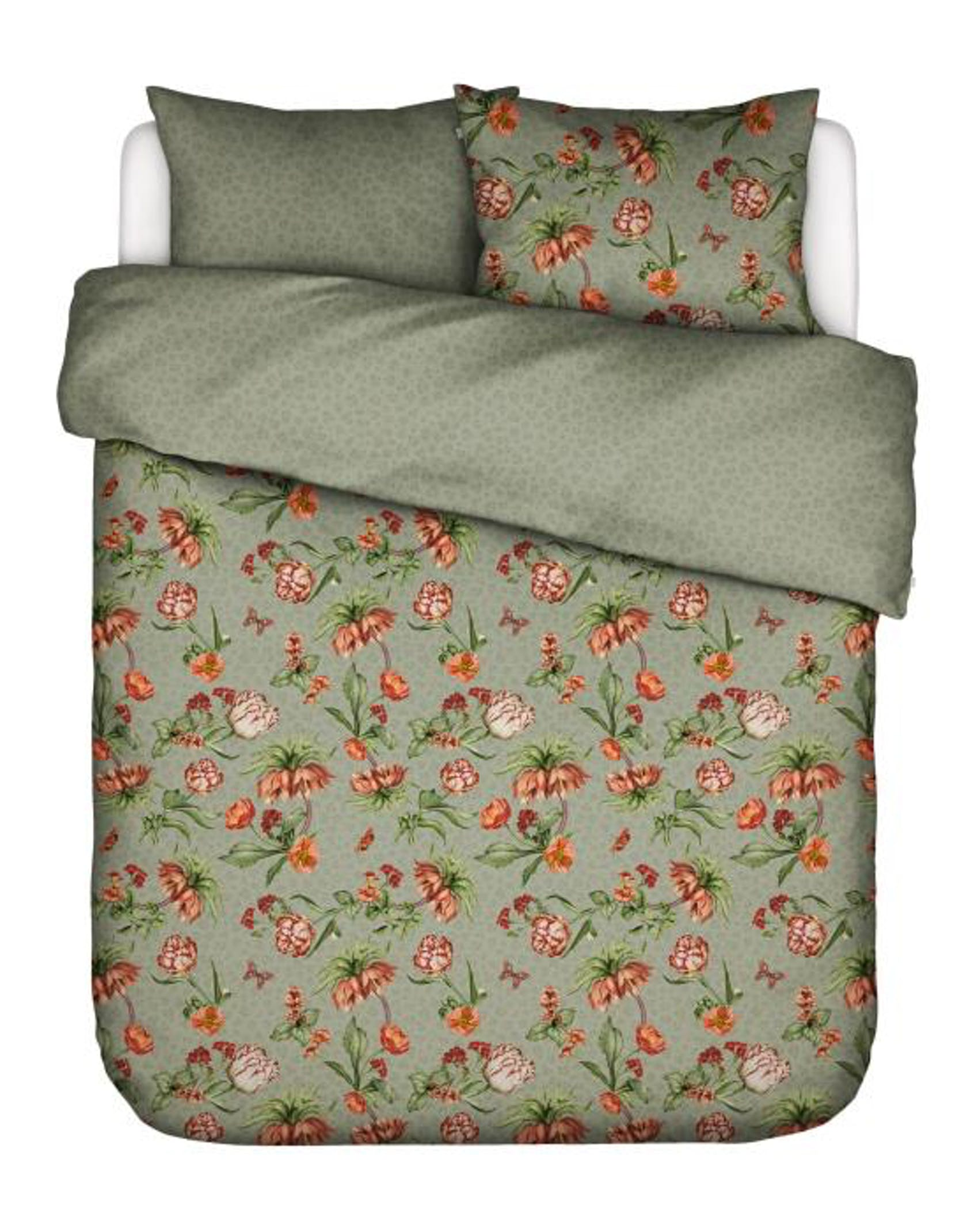 Essenza Femm Rosemary green Duvet cover 260 x 240