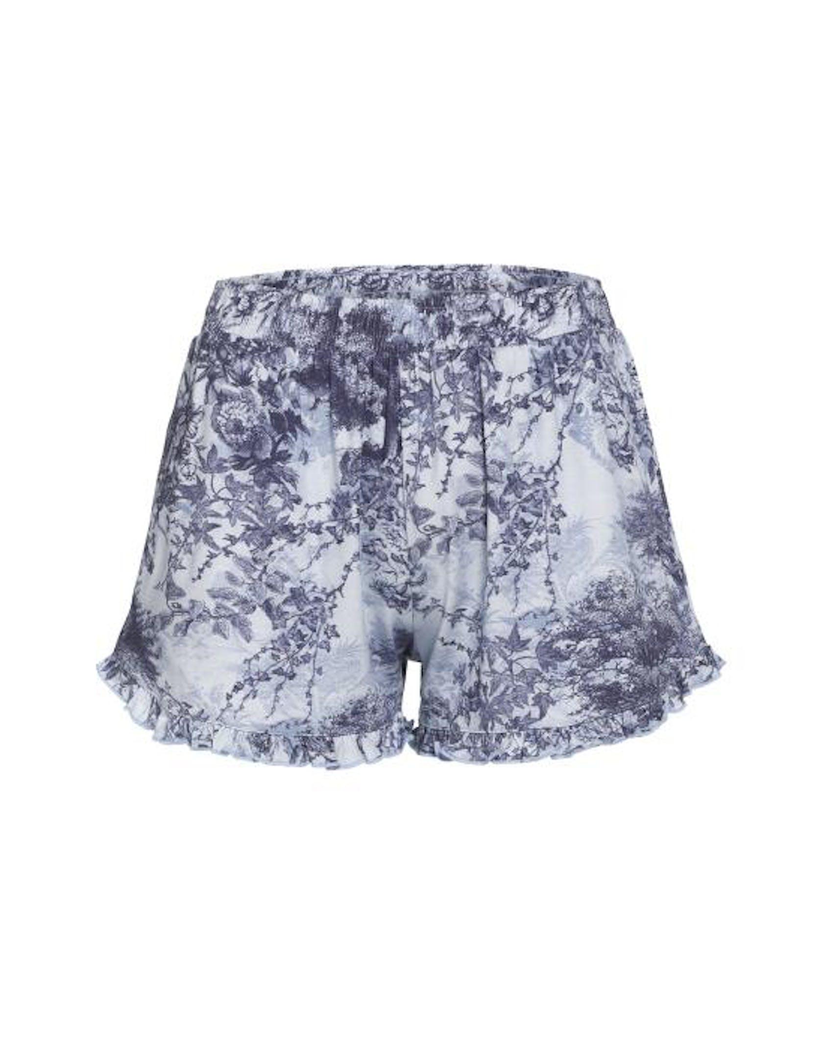 ESSENZA Xava Aurelie Iceblue Trousers short L