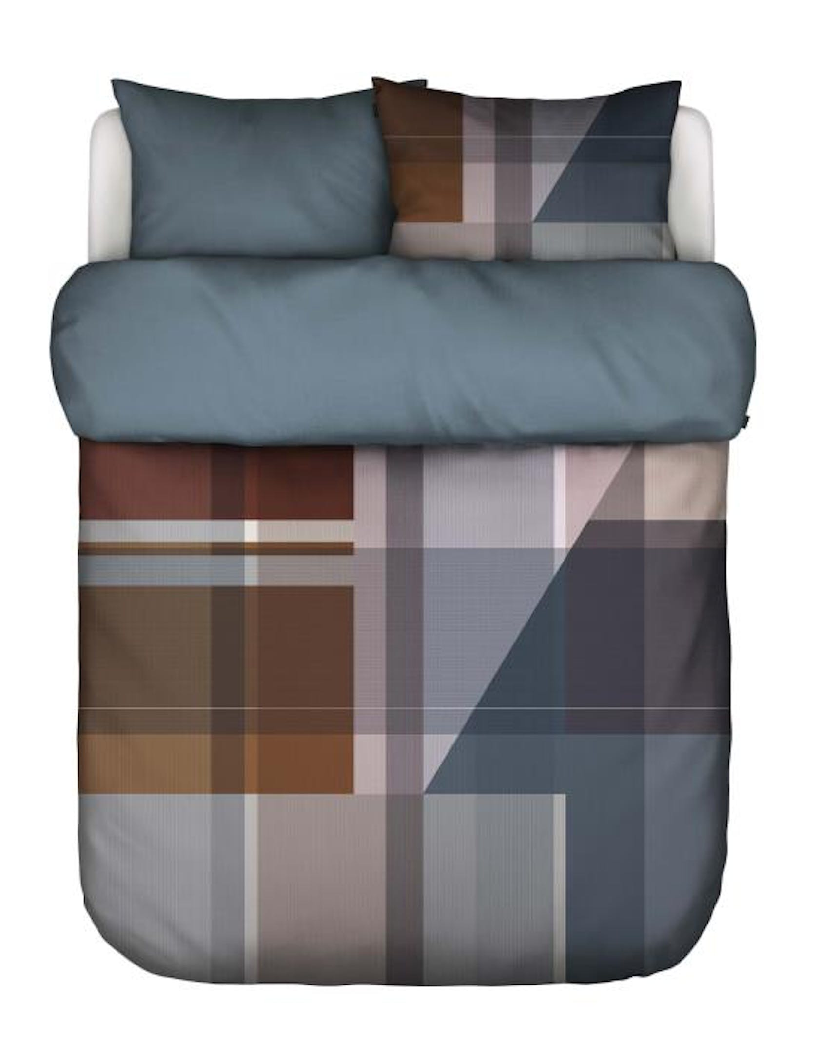 Marc O'Polo Meja Earth blue Duvet cover 240 x 220