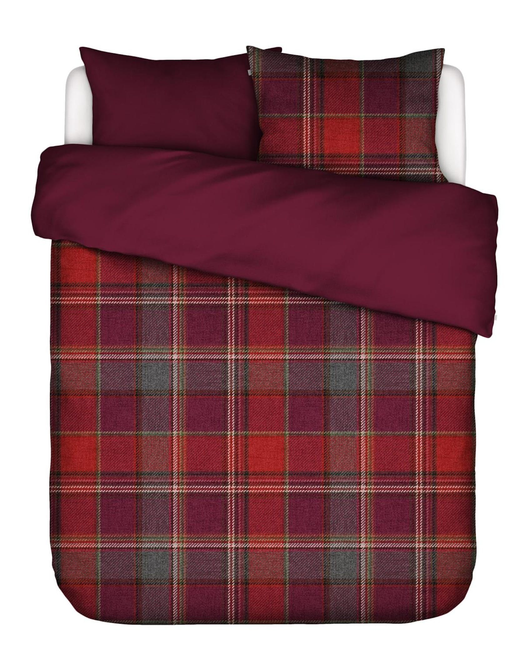 ESSENZA Beau Cherry Duvet cover 260 x 220