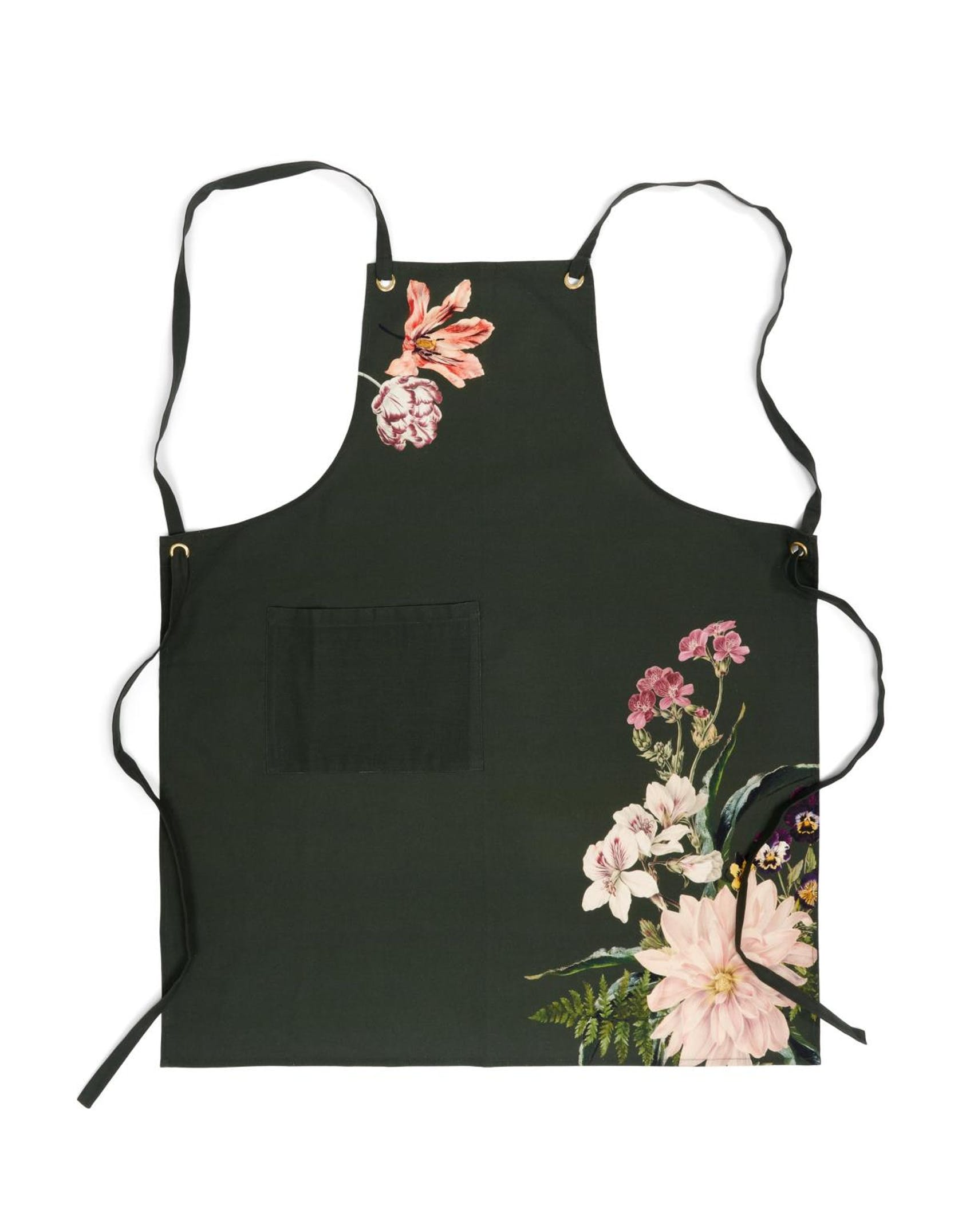 ESSENZA Gallery Dark Green Apron One Size