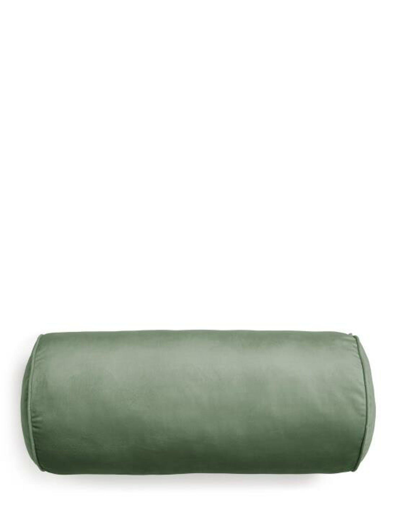Essenza Dailah Dark Green Neckroll 22 x 50