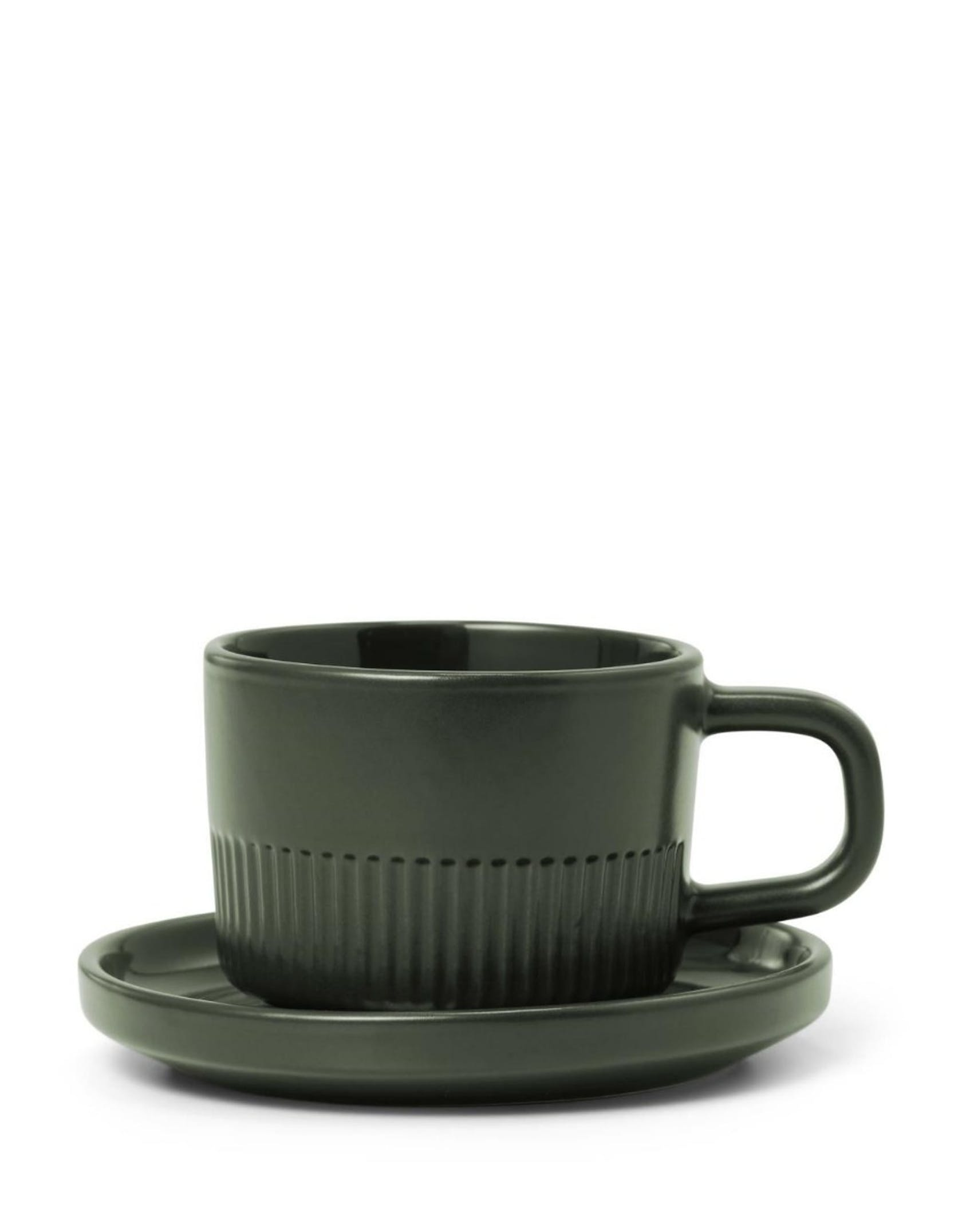 Marc O'Polo Moments Olive green Espresso cup & saucer 10 cl