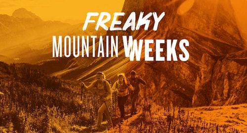 Freaky Mountain Weeks - Bergausrüstung, Kletterausrüstung, Bekleidung, Bergschuhe, Kletterschuhe