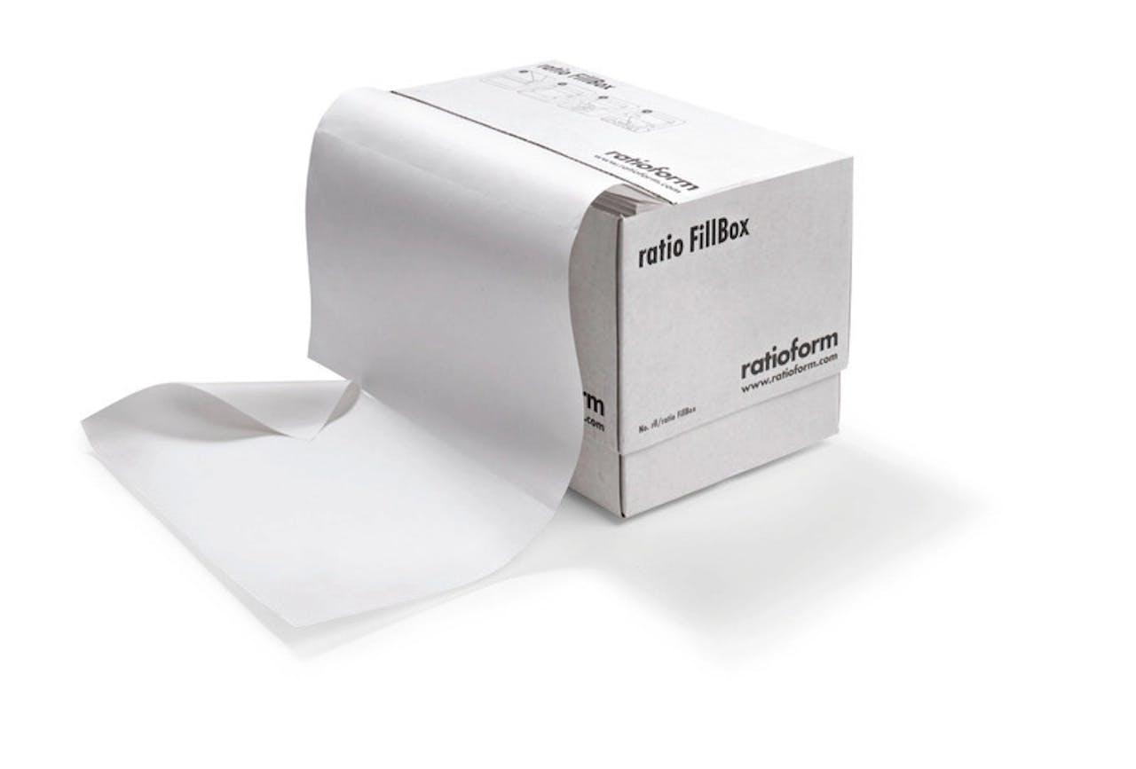 FillBox Füllpapier im Spendekarton