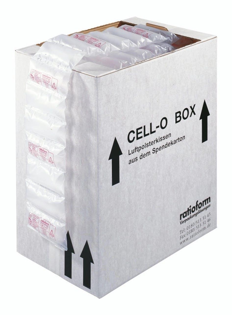 Luftkissen im Spendekarton CELL-O, VAR: COBXgr