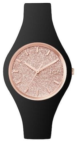 Cette montre ICE-WATCH se compose d'un boîtier Rond de 38 mm et d'un bracelet en Silicone Noir