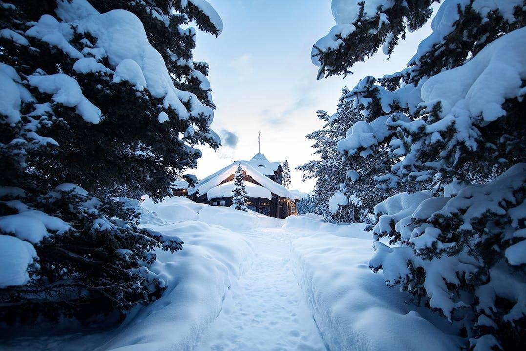 Winterurlaubs Wonderland Alberta