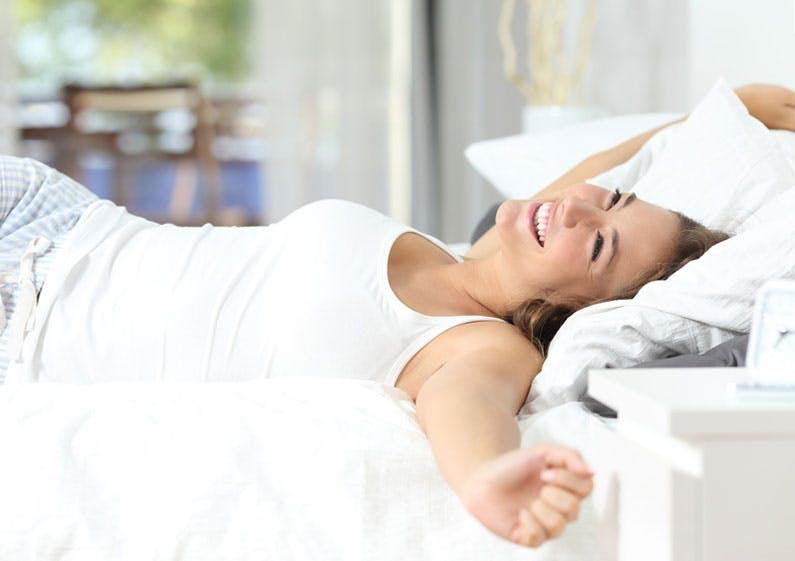 Das richtige Schlafklima wirkt sich positiv auf Ihren Schlaf aus.