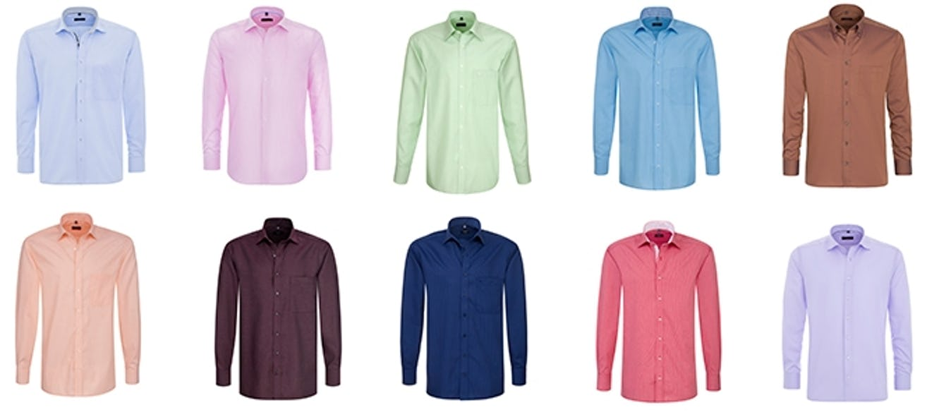 timeless design 20674 f6dee Dresscode Casual: Weißes oder rotes Hemd? Blaue oder rosa Bluse?