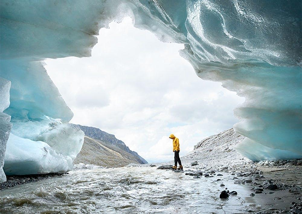 Gletscher Tor Untersulzbachkees