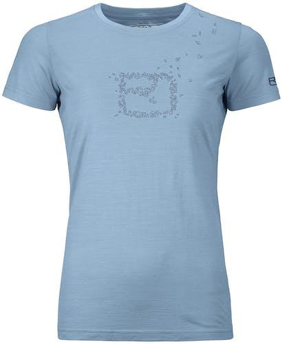 Ortovox 150 Cool Leaves - T-Shirt - Damen