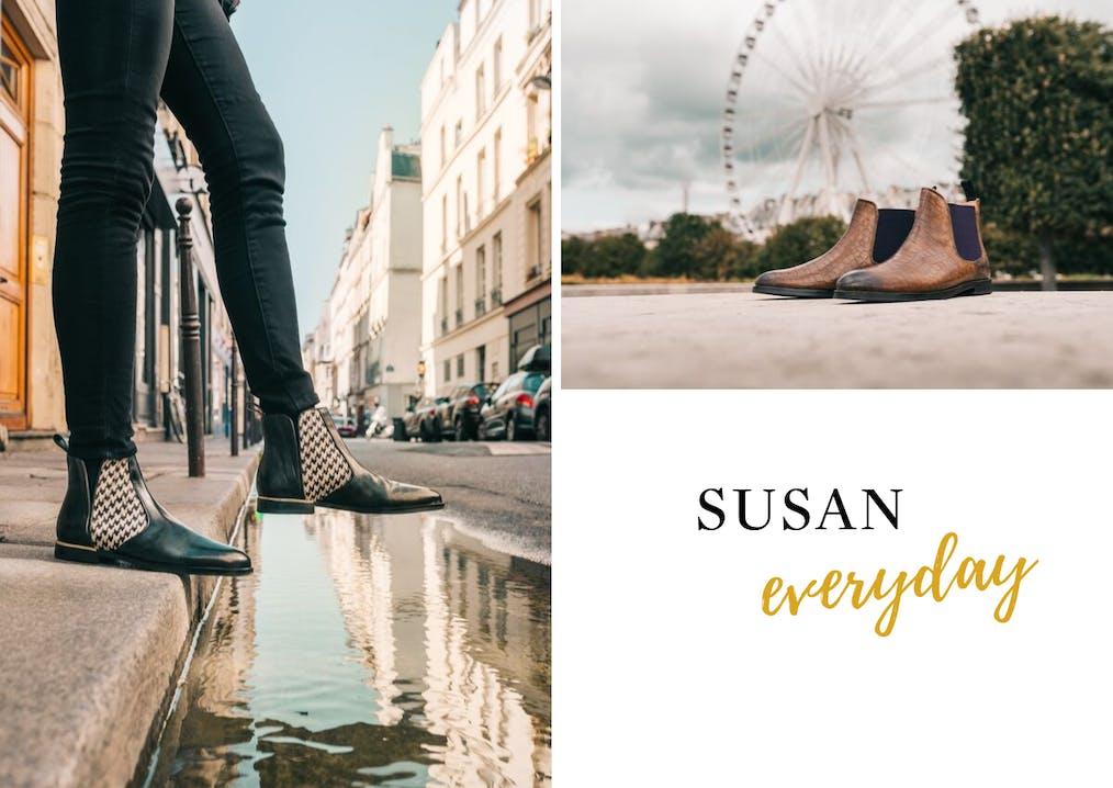 Famille de chaussures Susan Melvin & Hamilton