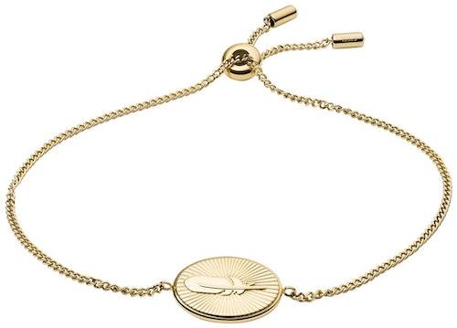 Ce Bracelet FOSSIL est en Acier Doré