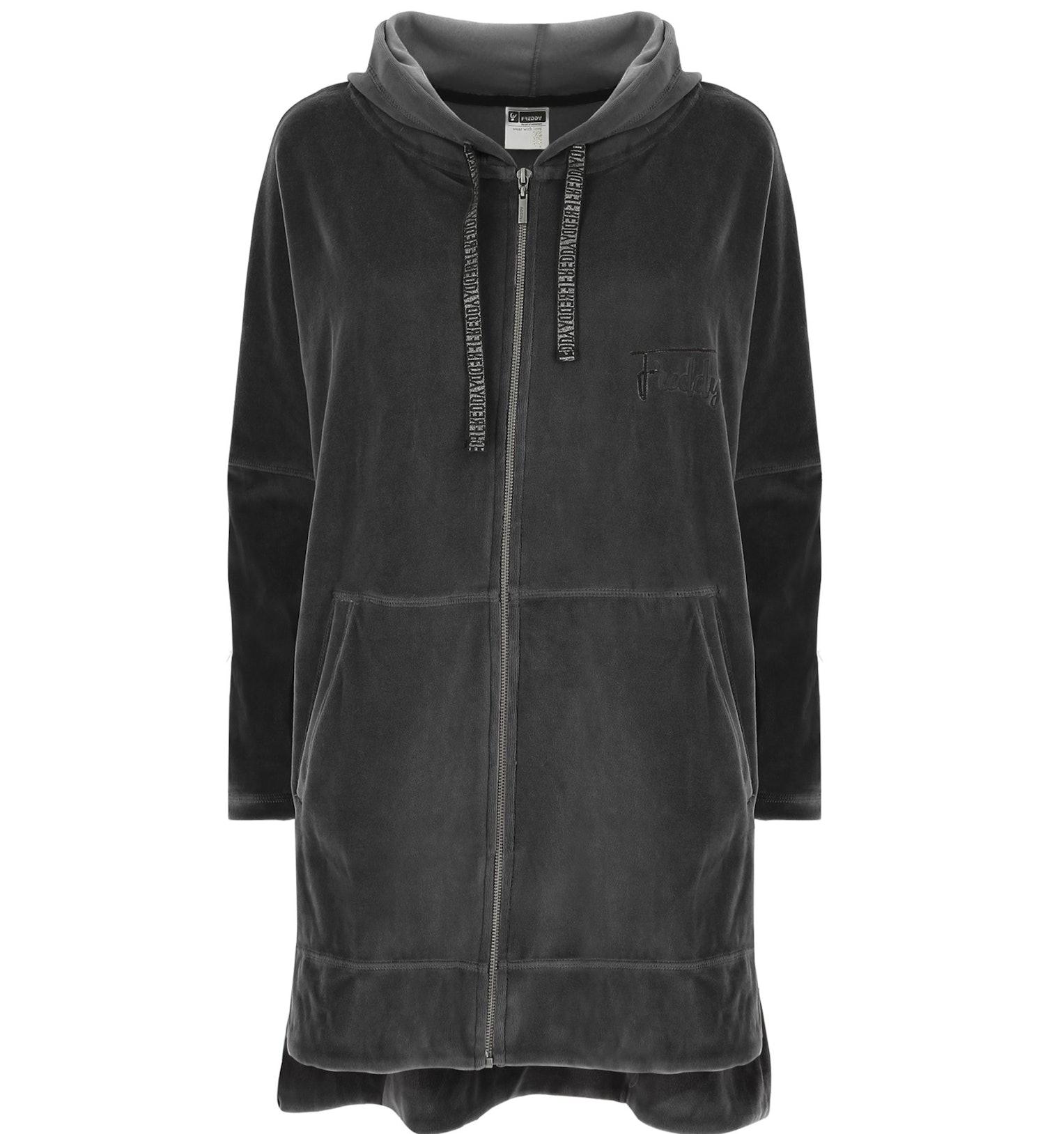 Freddy Velvet - giacca con cappuccio fitness - donna