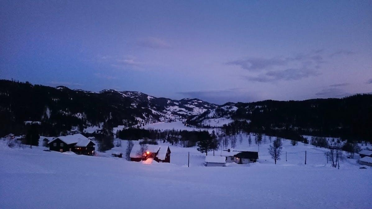 Skifahren-Norwegen